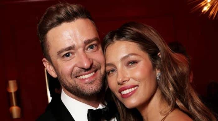 Justin Timberlake officially confirms welcoming son with Jessica Biel