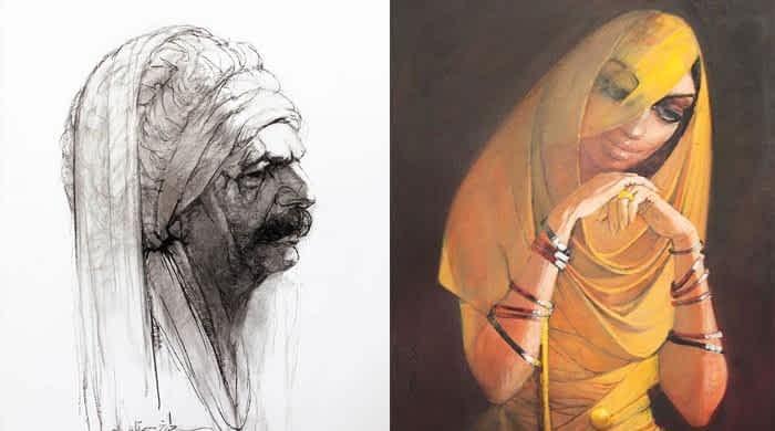 Into master artist Saeed Akhtar's ethereal world