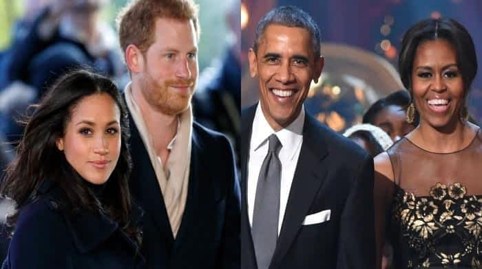 Meghan and Harry aiming to walk in the footsteps of the Obamas after royal exit