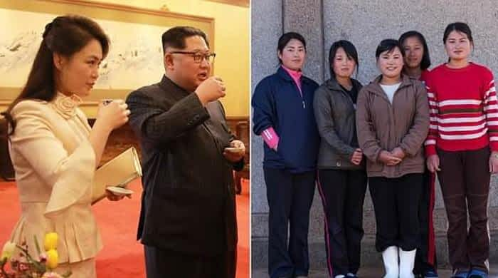 N Korean supremo Kim bans wearing of mini-skirts, fishnet stockings
