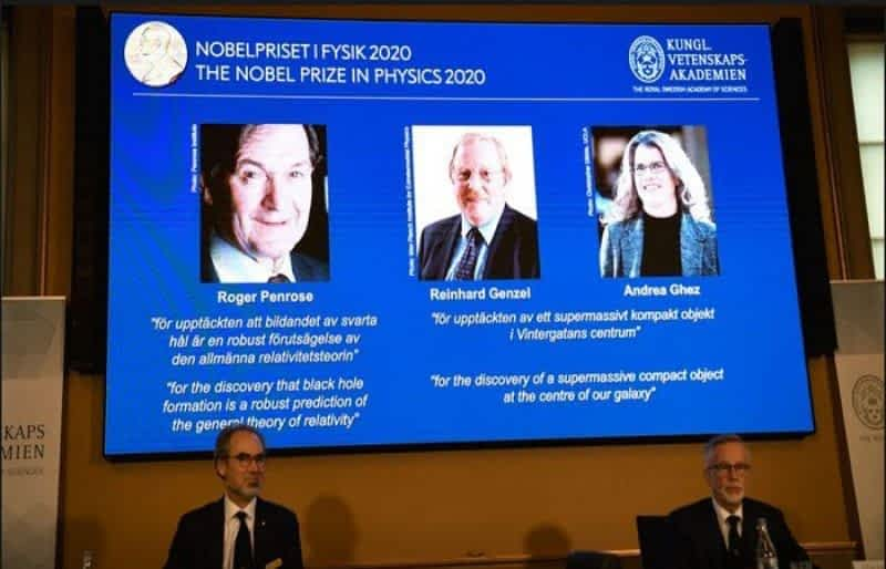 Black hole discoveries win 2020 Nobel Prize in Physics