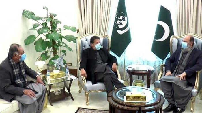 In Quetta visit, PM Imran Khan meets chief minister, governor Balochistan