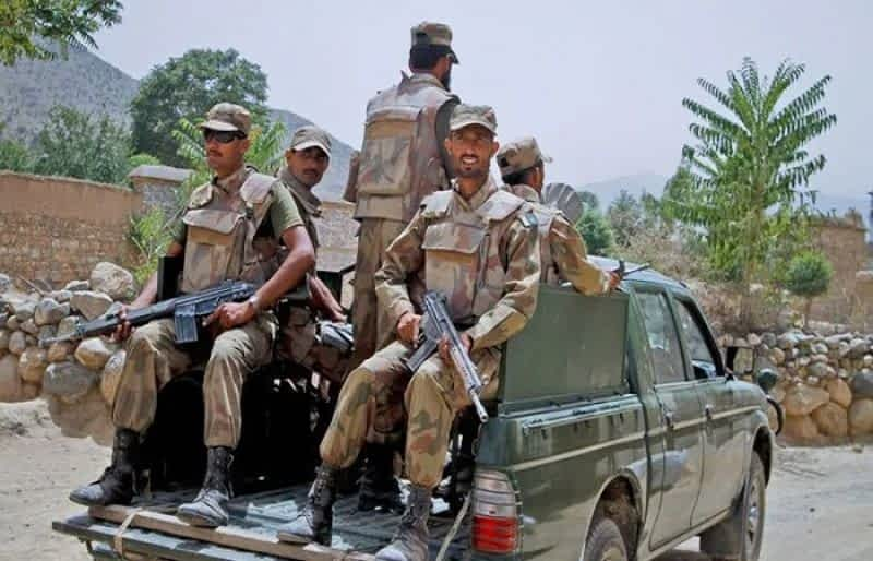 Two terrorists gunned down, 10 injured by security forces in North Waziristan: ISPR