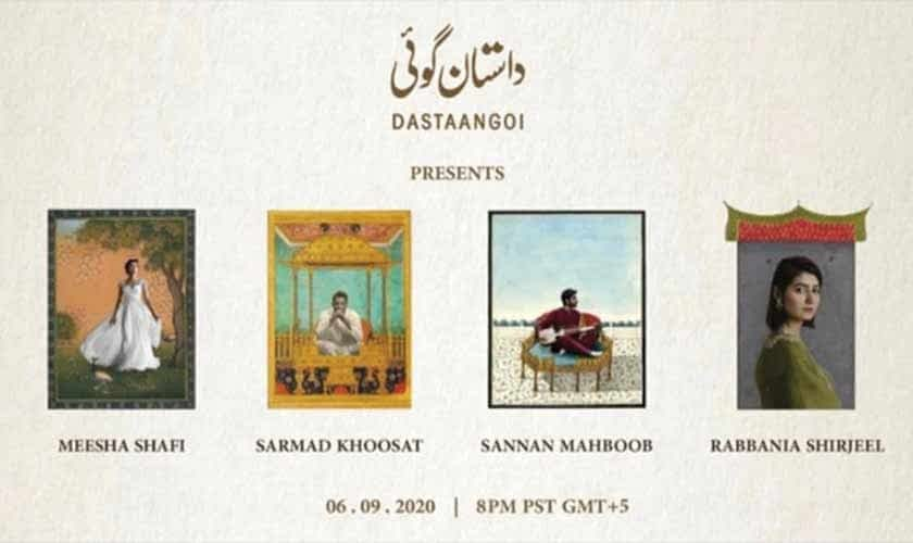 Dastaangoi nights: Mesmerizing performances enchant guests at virtual event   Art & Culture   thenews.com.pk
