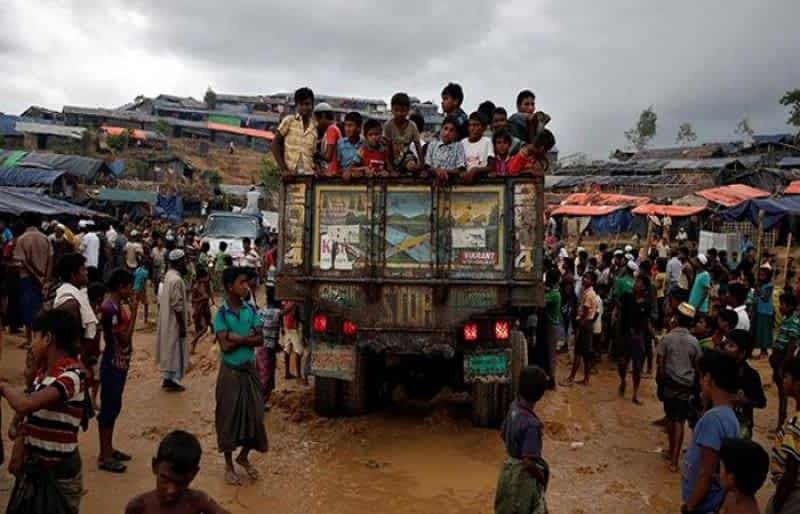 Thousands of Rohingya refugees relocated to remote island in Bangladesh