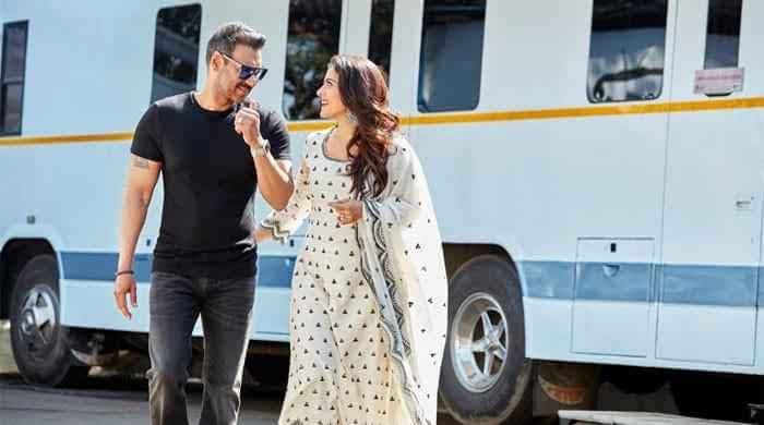 Ajay Devgn sends love to wife Kajol on her 46th birthday