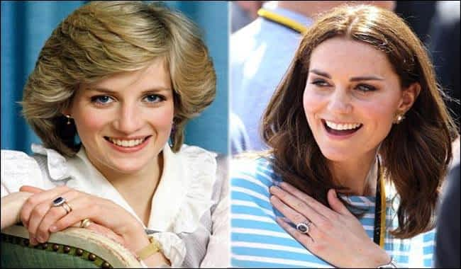 History behind Kate Middleton's engagement ring