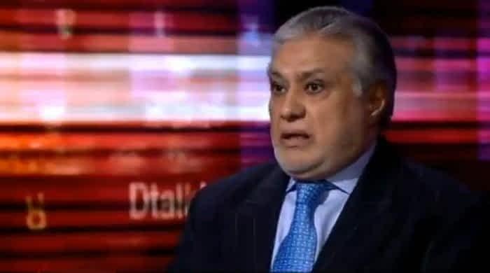 Nawaz Sharif not anti-military, says Ishaq Dar in BBC HARDtalk interview
