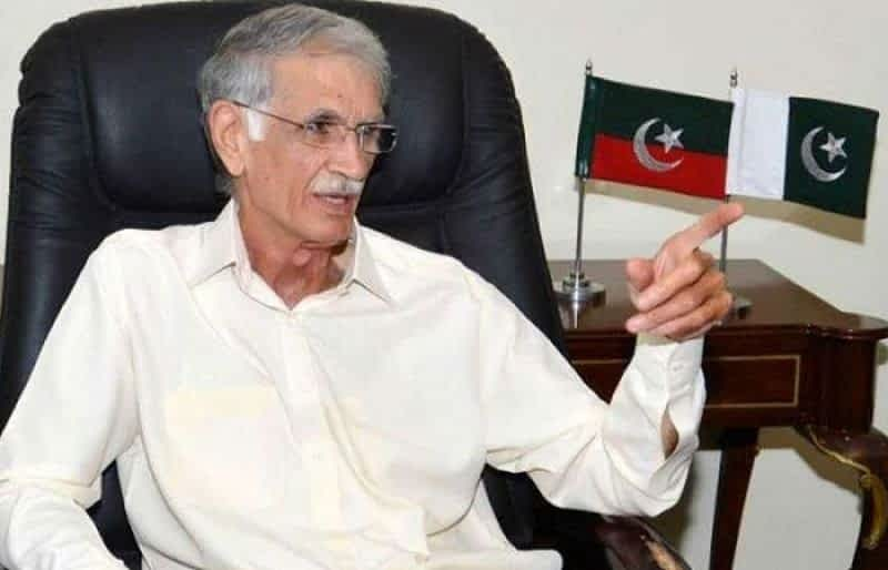 Imran Khan's govt won't last a day if I don't want it to: Khattak