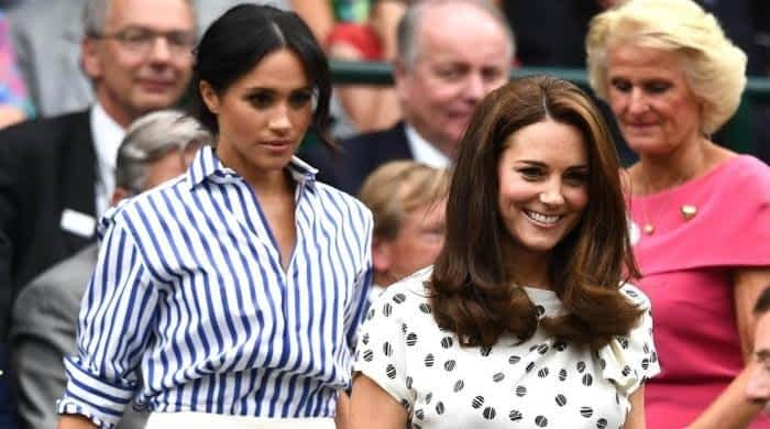 When Kate Middleton was desperate to flee a private event to avoid Meghan Markle