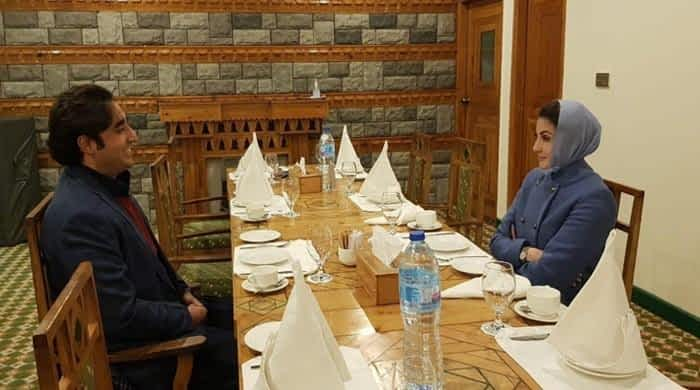 Maryam, Bilawal discuss future political strategy over tea in GB